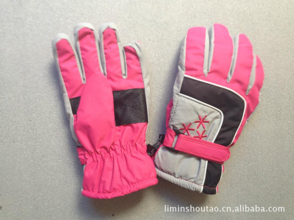 2014 new high quality children's outdoor riding ski boarding warm gloves(China (Mainland))