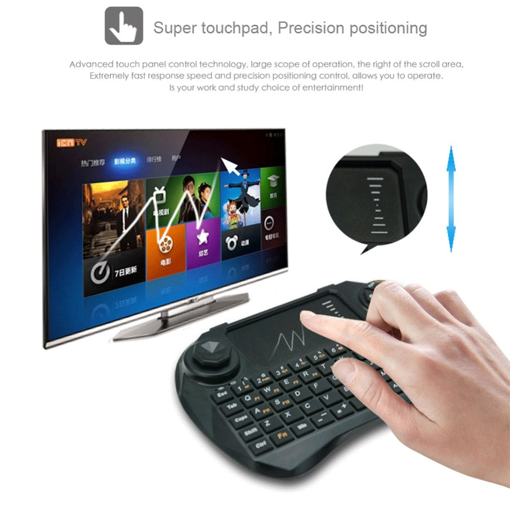 Mini Portable X3 Air Mouse Keyboard Remote Control For Windows iOS Linux Android(China (Mainland))