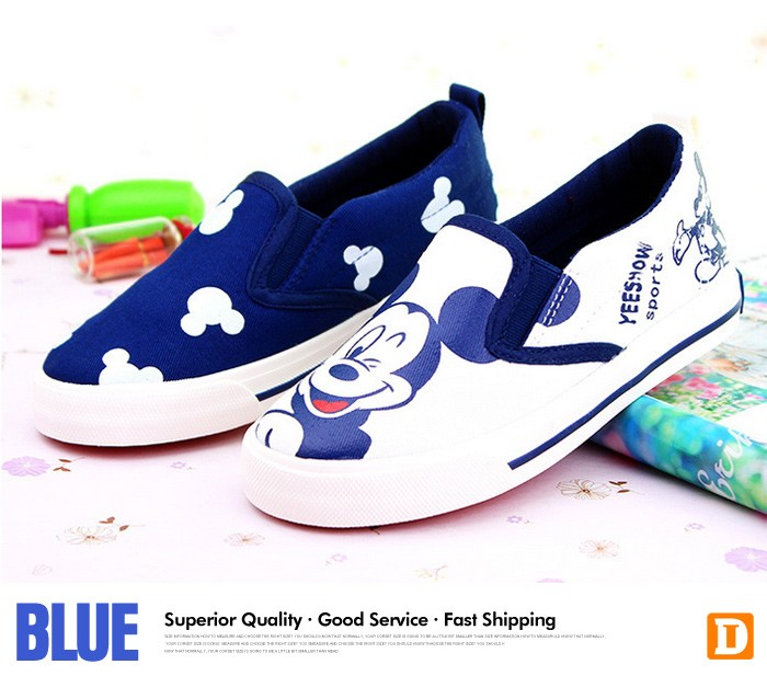 2016 New Spring Cartoon Children Shoes Brand Canvas Rubber Boys Girls Sneakers Comfortable Slip On Kids Shoes Child Footwear 427 (10)