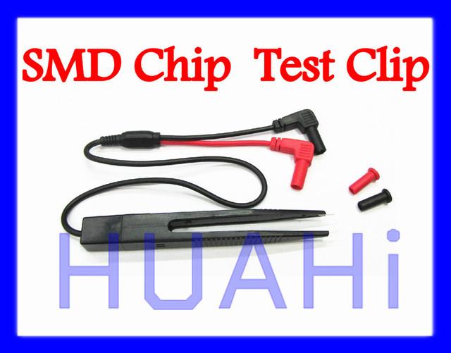 The Best SMD CHIP Component Capacitance Inductance Test Clip Tweezer Probe 19008