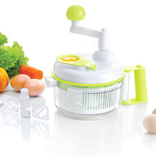 Anself Multi-functional Manual Food Vegetable Chopper Cutter Salad Maker Slicer for Fruit Onion Garlic Coleslaw Kitchen Tools(China (Mainland))