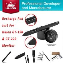 Huion novo Monitor de caneta de toque caneta Stylus tela Auto sono sem fio recarregável para GT-190 GT-220(China (Mainland))