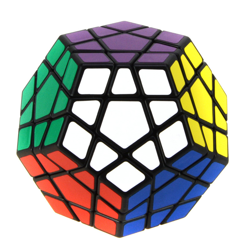 Starz Megaminx Puzzle Magic Cube Pentagonal Dodecahedron Learning IQ Educational Toys Gift for Kids(China (Mainland))