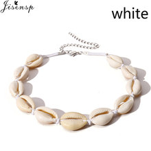 Jisensp Vintage Bohemian Seashell Bead Rope Chain Bracelet Simple Beach Shell Bracelet Jewelry for Woman Girls Birthday Gifts(China)