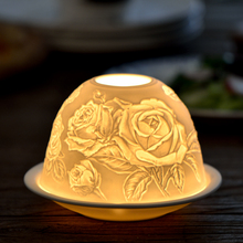 Exquisite Carving Candle Lantern Ceramic French Engraving Relief Candlestick Holders Wedding Decoration Candelabra Flower Bowl(China (Mainland))