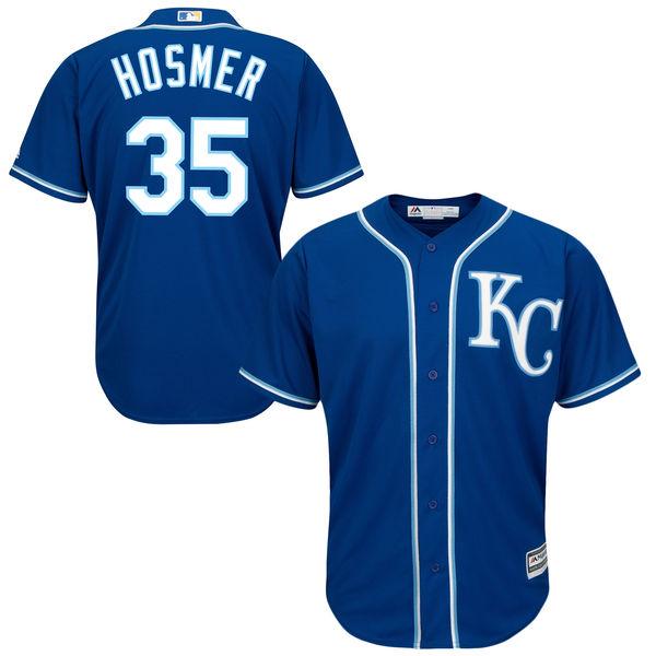 Eric Hosmer Kansas City Royals 2016 MLB All-Star Cool Base Player Jersey - Royal Baseball Jerseys(China (Mainland))