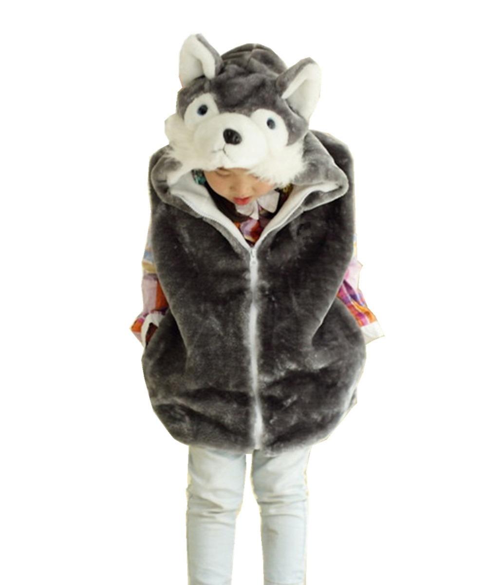 Baby Clothing Animal Vest Uni Children s Cartoon Gray
