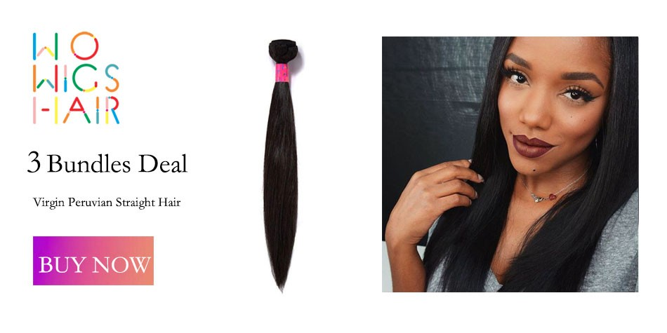 WoWigs Hair Brazilian Virgin Hair Body Wave 1 Bundle Deal Natural Color 1B