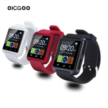 Smartwatch Bluetooth Smart Watch U8 WristWatch digital sport watches for IOS Android phone Wearable Electronic Device