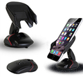 Creative Windshield Dashboard Car Phone Stand Holder One Touch Mouse Suction Cup Mobile Cradle For Iphone