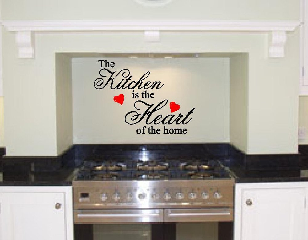 Buy Kitchen Quote Wall Sticker Removable Wall Art Vinyl Wall Decal Kitchen