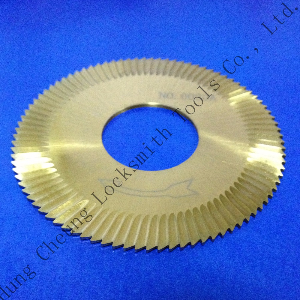 Cutter 0020A in HSS for Wenxing Key Cutting Machine 100D,100E,100E1,100F,100F1 by China Post(3pcs/lot)(China (Mainland))