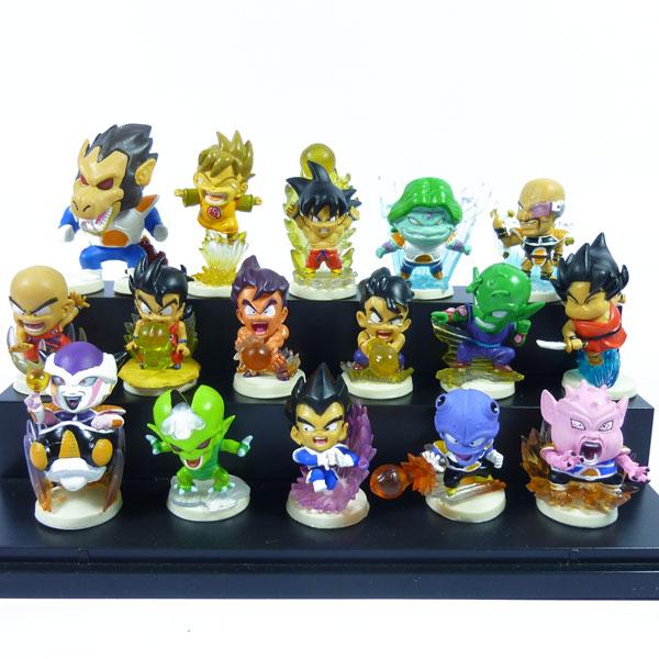 Mini Action Figure Dragon Ball Figure Son Gokou 16pcs/set 5cm Q version Dragon Ball z Frieza Son Goku Action Figure Toys(China (Mainland))