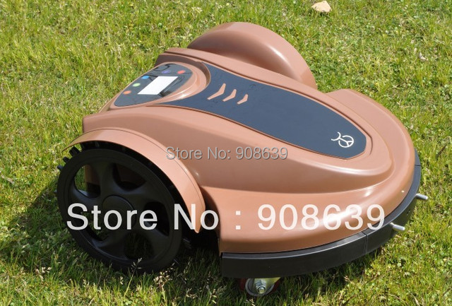 2015 Newest Arriving Robotic Lawn Mower(Lead-acid Battery) With Password,Time Setting, Language and Subarea Setting Function