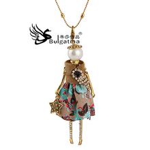 Chunky Necklace Fashion Perfume Women Statement Necklaces Fashion Designer(China (Mainland))