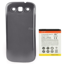 Mobile Phone Battery for Samsung Galaxy SIII i9300 Dark Grey with cell Phone Cover Cases Back