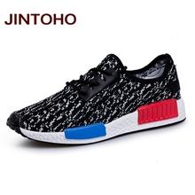 JINTOHO unisex men women casual shoes fashion breathable lace up men women trainers zapatillas shoes online shop chaussure femme(China (Mainland))