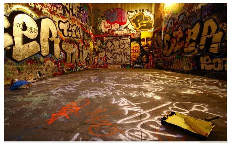 Online get cheap graffiti wall murals for Cheap mural wallpaper