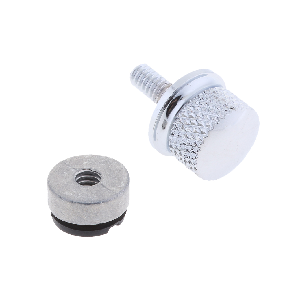 Rear Aluminum Alloy Motorcycle Seat Mount Bolt Screw Fender Solo Seat Nut Kit for Harley Touring 20mm Dropshipping
