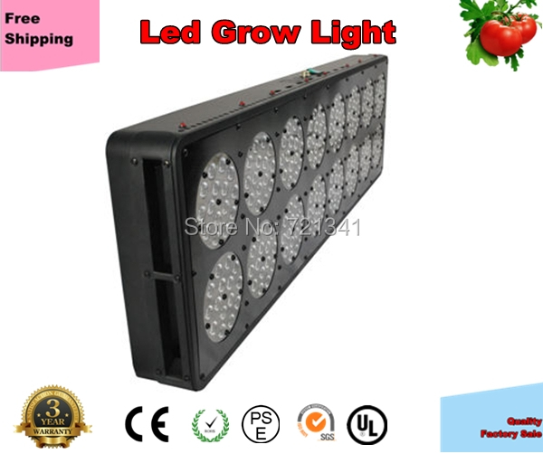Apollo 16 Led Grow Light 720W For Indoor Grow Plant Veg and Flowering with Secondary Lens Lamp Panel China Manufacture(China (Mainland))