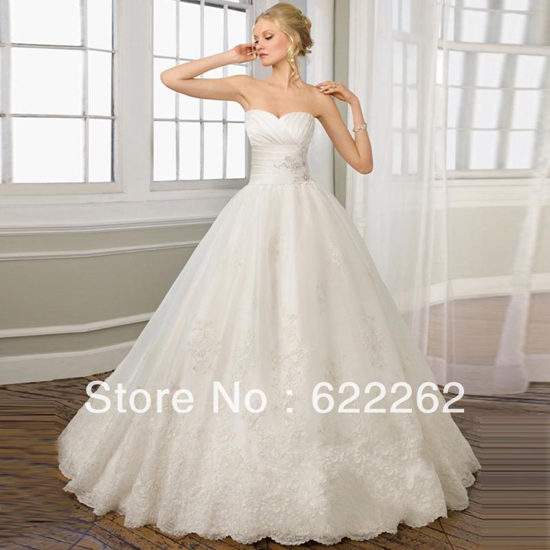 Wedding Dresses For Thin Brides : Hot sale wedding princess dress thin straps