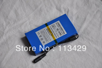 Free shipping New Super DC 12V 9800mAh Rechargeable Lithium-ion Battery Pack For CCTV Camera DC 1298A