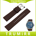 20mm 24mm 26mm 28mm Watchband for Diesel DZ7313 22 7257 Men Women Calf Genuine Leather Watch