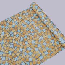 5 м/10 м водонепроницаемый ПВХ самоклеющиеся обои Кухня Ванная комната Туалет стикер на стену s плитка наклейка мозаика декоративная пленка с...(China)