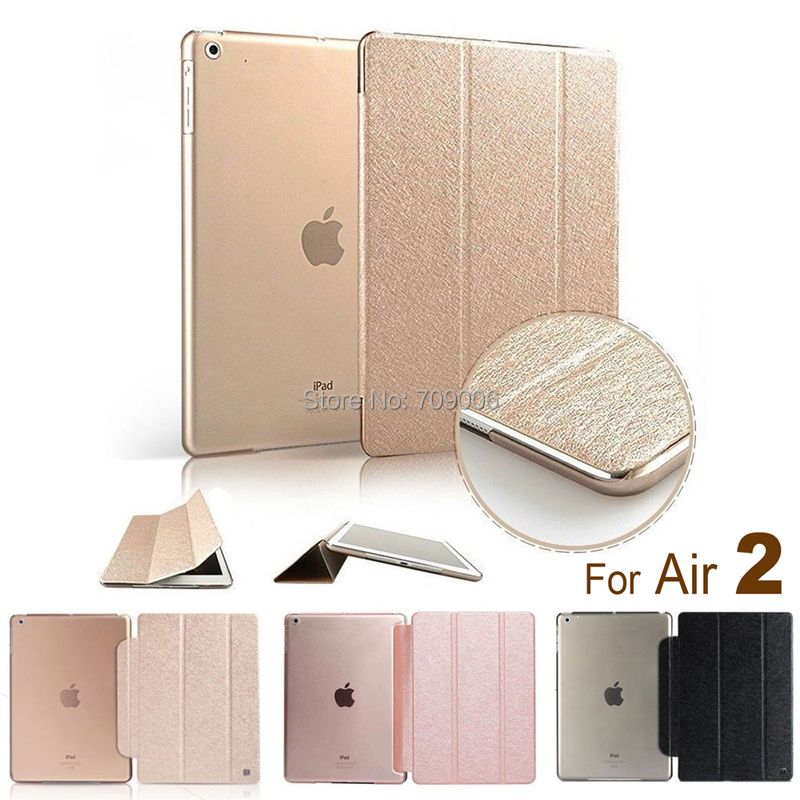 ! Smart Case iPad Air 2 Cover Stand Tablet Designer Leather Apple air - Shenzhen Bolihua Battery Technology Co.,ltd store