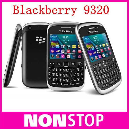 9320 Unlocked Original BlackBerry Curve 9320 mobile phone WiFi GPS Bluetooth Mobile Phone with One Year Warranty(China (Mainland))