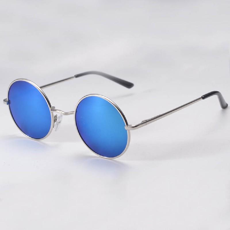 2016 hippie retro hd sunglasses lens metallic
