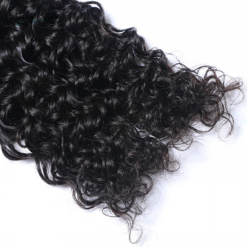 Brazilian Virgin Hair Deep wave  Brazilian Human Hair Weave Bundles 7A Brazilian Deep Wave Curly Hair onlice sales