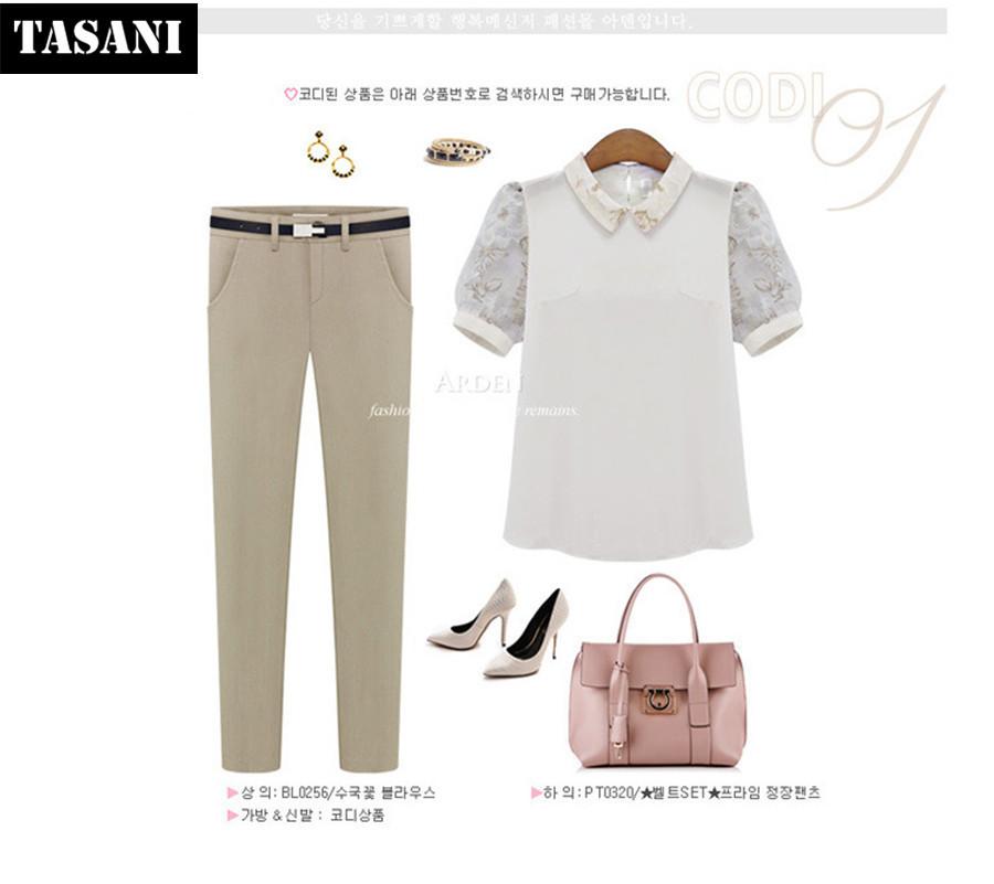 Plus 2015 New Fashion Spring Cotton Women Pants Korean Style Pencil Suit Clothing K3201 - TASANI store