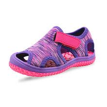 Apakowa יוניסקס חוף סנדלי פעוט בנות חמה קיץ ילדי ספורט נעלי תינוק בנות ובני מהיר ייבוש מרוצף סנדלי(China)