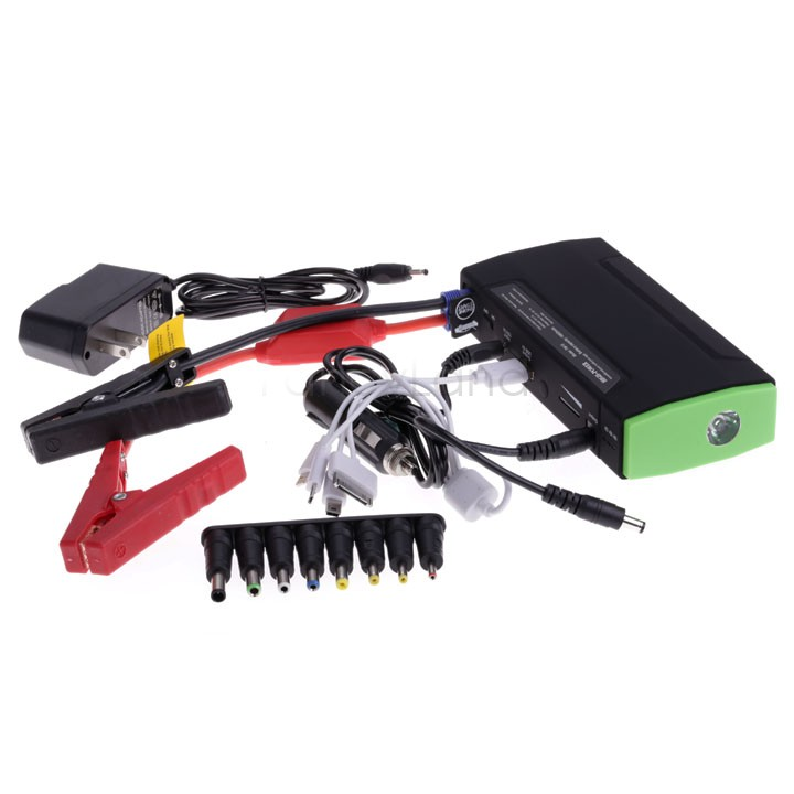 Mini Portable Car Jump Starter 16800mah Emergency Start 12V Engine Multi-Function Car Power Bank Battery Charger 18(China (Mainland))