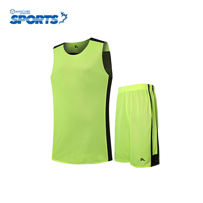 Hot Sale Customized Professional Basketball Jersey Solid Color Cool Sleeveless Round Neck Breathable Youth Clothing(China (Mainland))