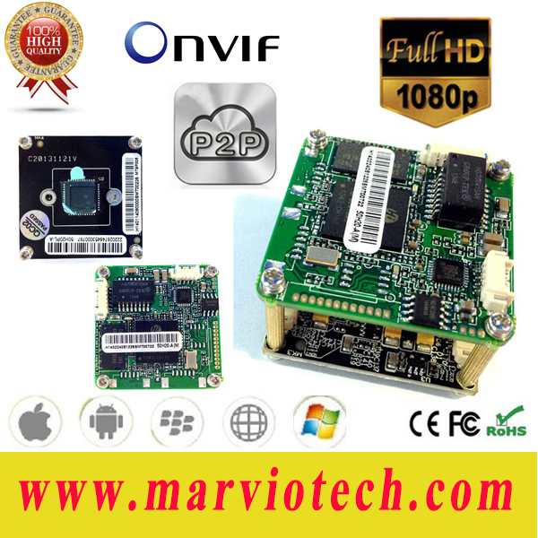 2MP Megapixel 1080P Full HD CCTV IP Camera Board Module camara kamera cueca seguridad 3516C Onvif wifi optioanal - Chinese digital store
