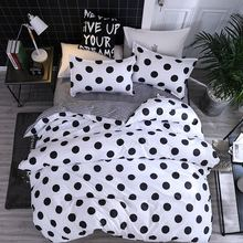 Solstice Mixed Color Cartoon Style Fox/snowflakes/animal Plants 4pcs Bedding Sets Bed Sheet Duvet Cover Pillowcase Bedclothes(China)