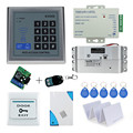 Hot sale completed door access control keypad system K2000 electric drop bolt lock power supply exit