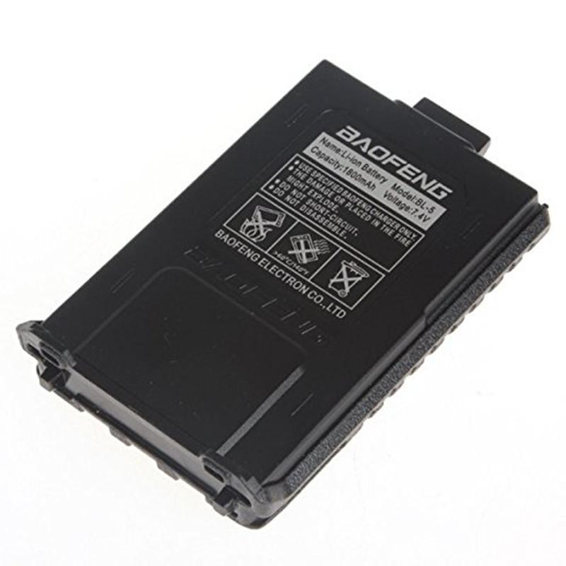Baofeng UV-5R Original BL-5 Battery 7.4V 1800mah Rechargeable battery for walkie talkie pofung uv5r two way radio 5ra 5re 5re CB(China (Mainland))