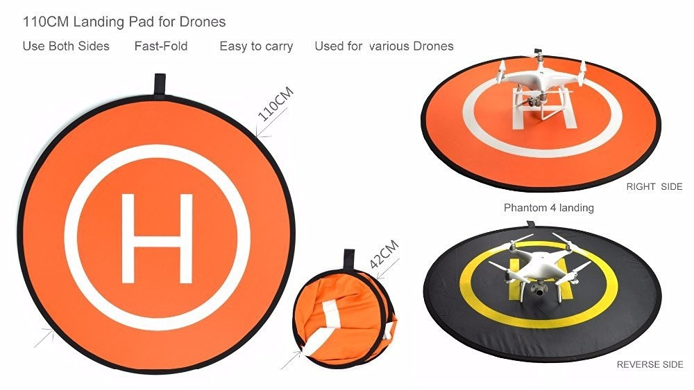 RC Drone Quadcopter Helicopter Fast-fold landing pad helipad Dronepad DJI Phantom 4 Phantom 3 2 1 inspire 1 protective
