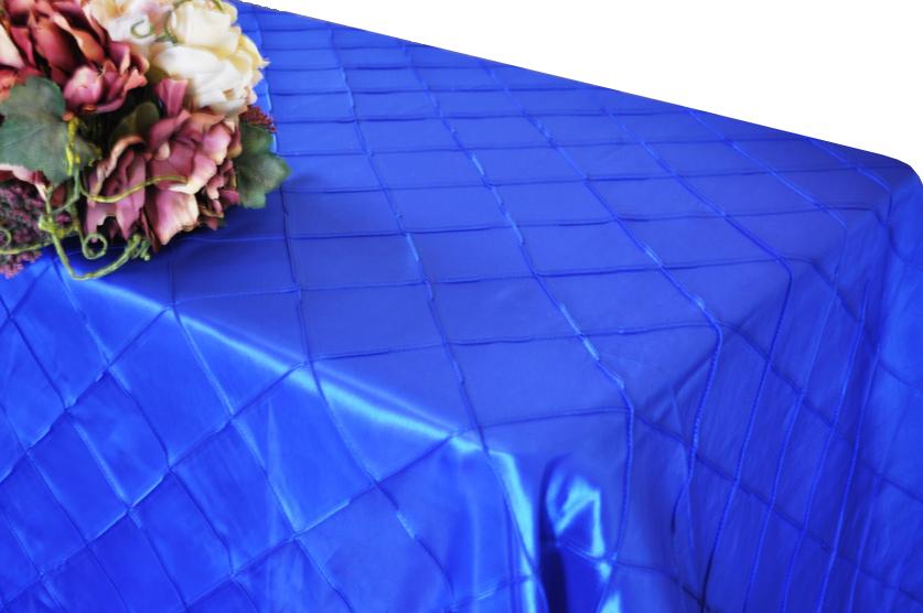 "90""x132"" Rectangular Table Cloth Pintuck Taffeta Tablecloths Dining Weddingr Decorative Tablecloth Table Covers Cover Table(China (Mainland))"
