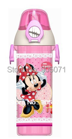 1pcs,Hot sale, factory price, 500ml clearly water bottles, student water bottles, car/princess design on the body BPA free(China (Mainland))