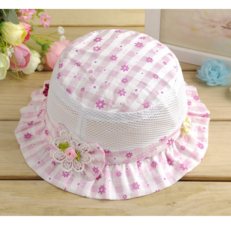Baby Summer Outdoor Bucket hats Fashion cute Kids Cap Sun Beach Beanie boy girl vacation cap