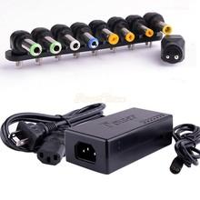Livraison gratuite Hot Universal 90 W pc portable 110 - 240 v AC à DC Power Adapter chargeur avec 9 connecteurs drop Shipping 51(China (Mainland))