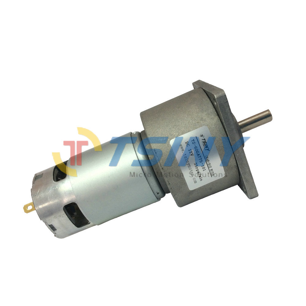 Dc 12v 35rpm Electric Gear Motor Gear Speed Reducer Metal