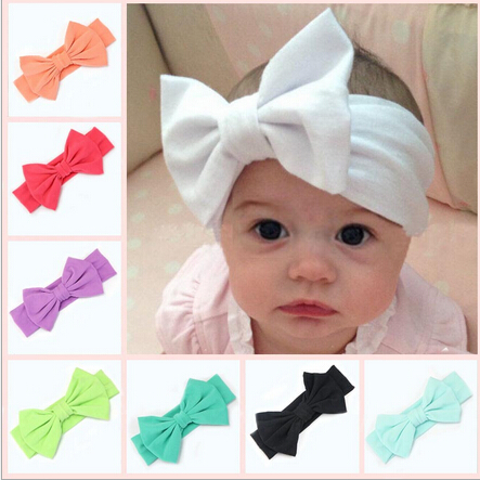 2016 new cotton elastic newborn baby girls solid color