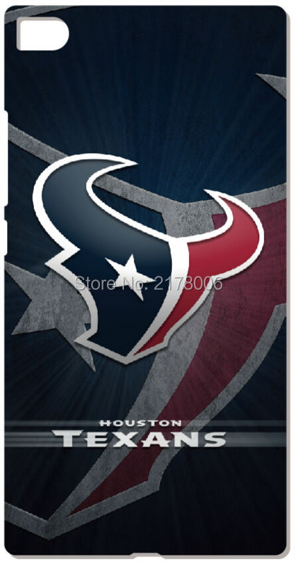Printed Houston Texans Plastic Hard Cell Phone Cover For Huawei Honor 6 7 6X Ascend P6 P7 Mini P8 P9 Lite Mate 7 8 Mobile Case(China (Mainland))
