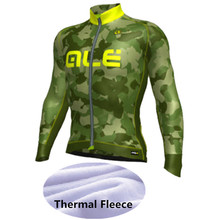 2016 ALE Cycling Clothing /MTB Bike Wear Ropa Ciclismo Winter Thermal Fleece Cycling Clothing / Pro Mens Cycling Jersey -JJJ36(China (Mainland))