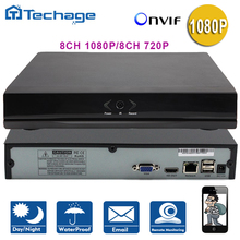Techage 8CH HD 1080P 2.0MP CCTV System NVR H.264 For IP Camera ONVIF P2P HDMI Network Security Video Recorder Surveillance Kits(China (Mainland))